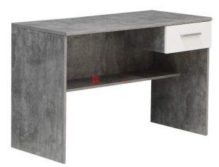 Psací stůl HAMZA dekor šedý beton