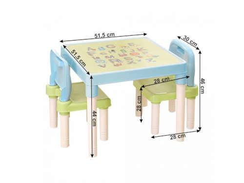 set - stůl a 2 židličky