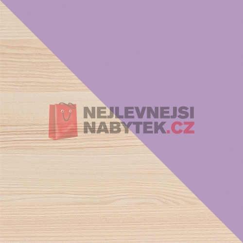 vysoký dřevěný praktický regál