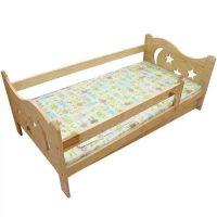 Dřevěná dětská postel Mikuláš s matrací