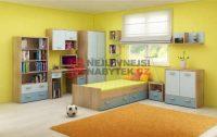 Moderní sestava nábytku do dětského pokoje NELLORE II