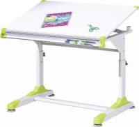 Psací stůl s nastavitelnou výškou i psací plochou