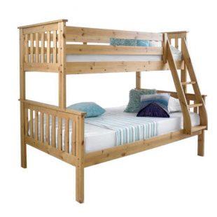 Rozložitelná patrová postel z masivu