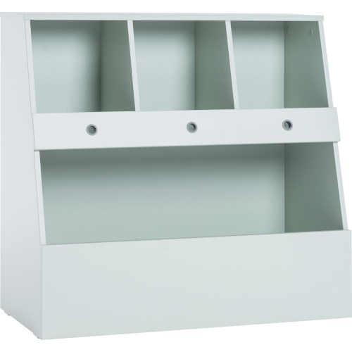 Úložná skříňka na hračky v neutrální barvě