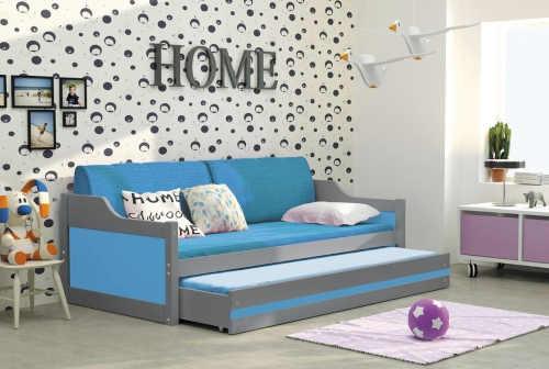 moderní gauč v různých barvách