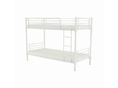 rozložitelná patrová kovová postel