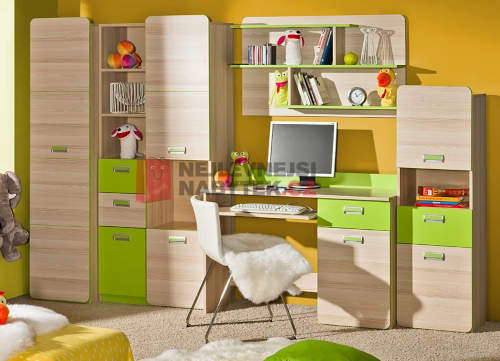Dětský pokojíček zelená barva