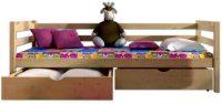 Dětská postel s úložným prostorem a s možností volby dekoru