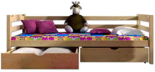 Dětská postel s možností volby dekoru