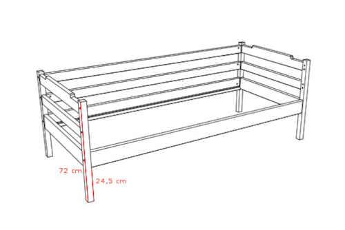 jednolůžková postel pro děti